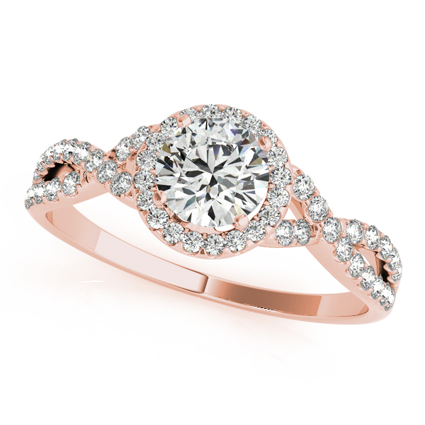 Infinity Style Engagement Ring Mckenzie Smiley Jewelers
