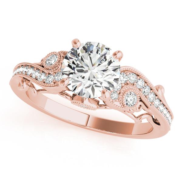 Scroll Design Engagement Ring Mckenzie Smiley Jewelers Clarksville Tn