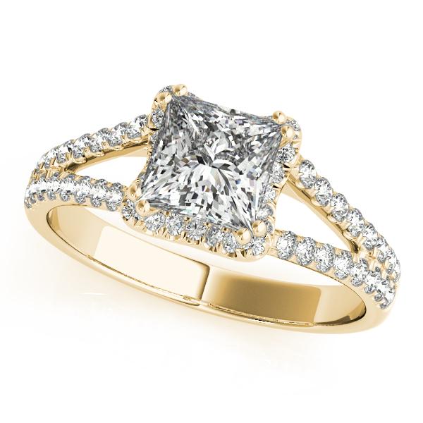 Princess Cut Halo Ring Mckenzie Smiley Jewelers Clarksville Tn