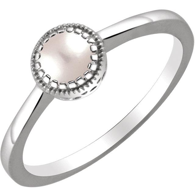 14k June Pearl Ring McKenzie Smiley Jewelers Clarksville TN