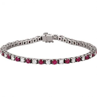 Gold Gemstone Bracelets